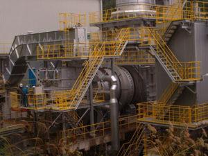 ロータリーキルン炉